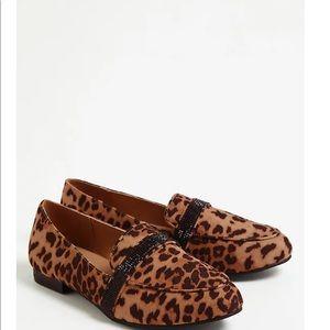 Nwt Torrid Wide width Leopard print Loafer